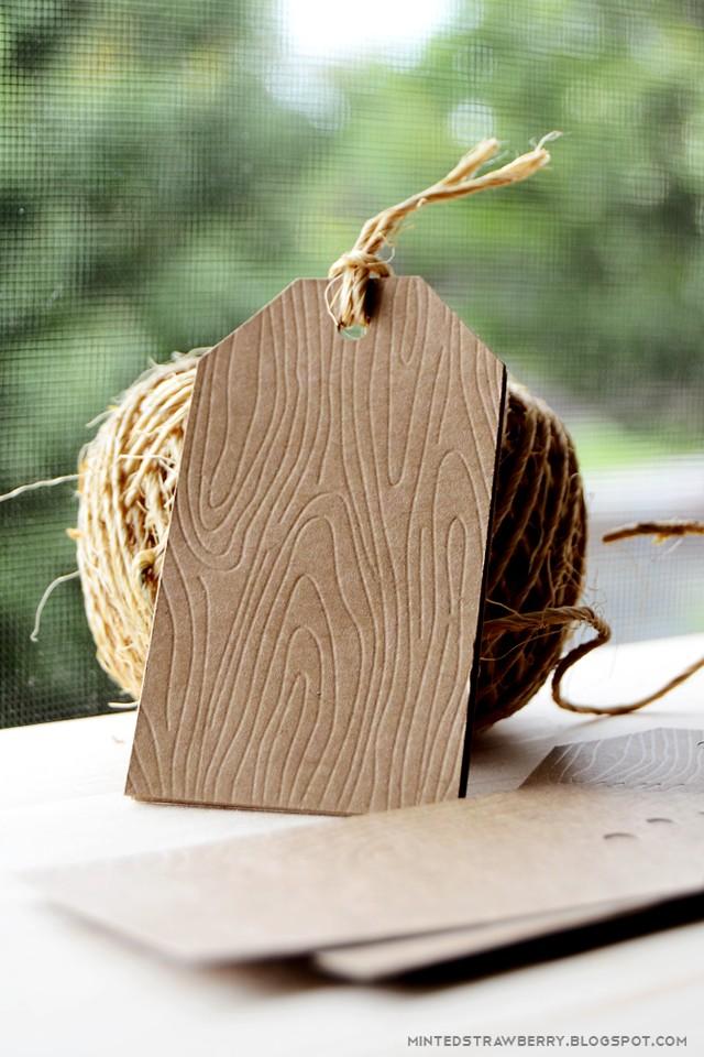 Embossage façon bois avec la Curio Emboss12