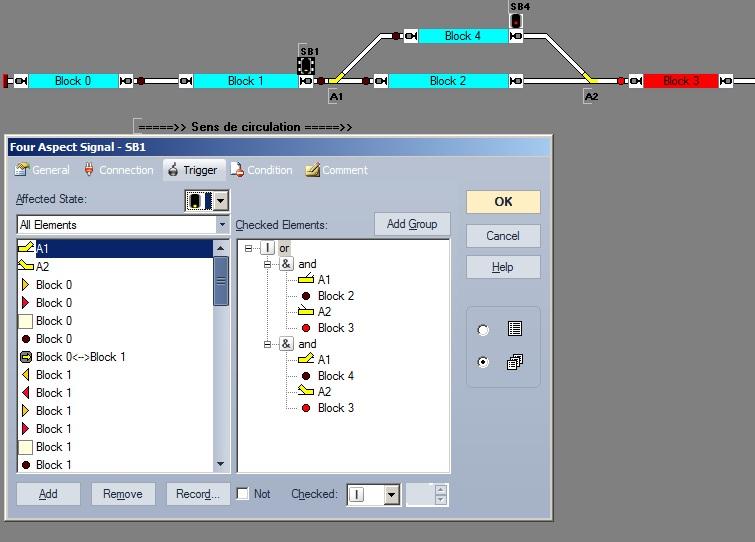 Signalisation des zones d'aiguilles... Signal12