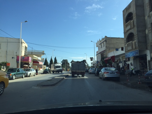 Ma première mission en Tunisie (octobre 2015) Camion11