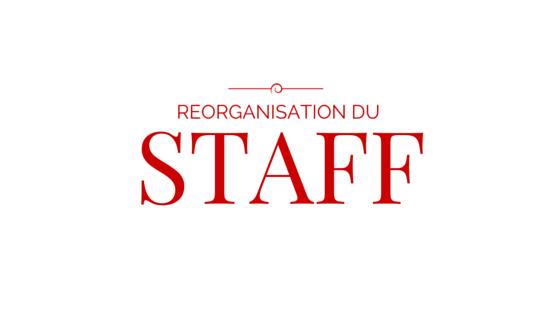 Réorganisation dans le staff Making10