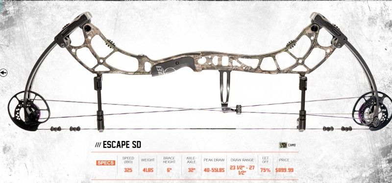 BEAR ARCHERY 2016 Escape13