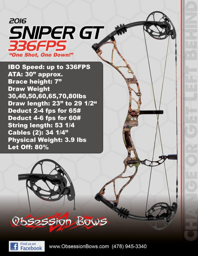 OBSESSION BOWS 2016 Sniper10