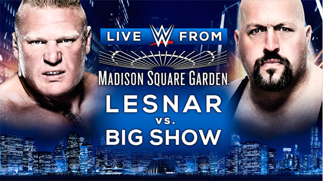 "[Résultats] WWE ""Live from the Madison Square Garden"" du 03/10/2015 Brock-10"