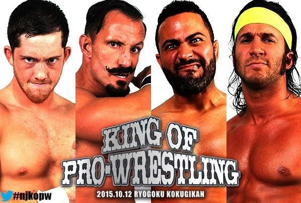 NJPW King of Pro-wrestling du 12/10/2015 Sadns-10