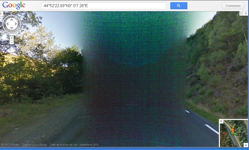 STREET VIEW : Bugs, collages, défauts dans l'image - Page 4 Bug210