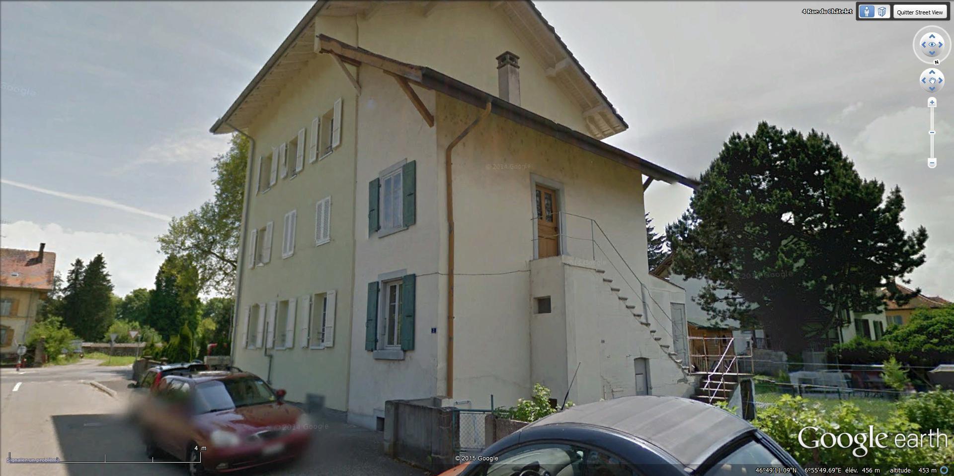 [Désormais visible sur Google Earth] Une maison s'écroule 4 Rue du Châtelet Payerne, Vaud La_gc_11