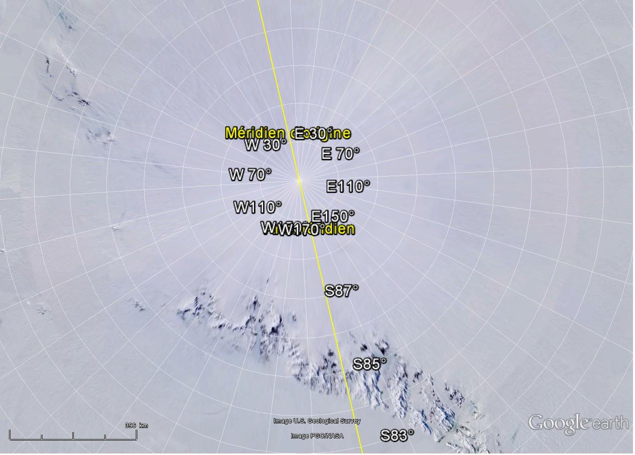 la majorité des cartes du monde sont fausses ( débat) Pole_l10