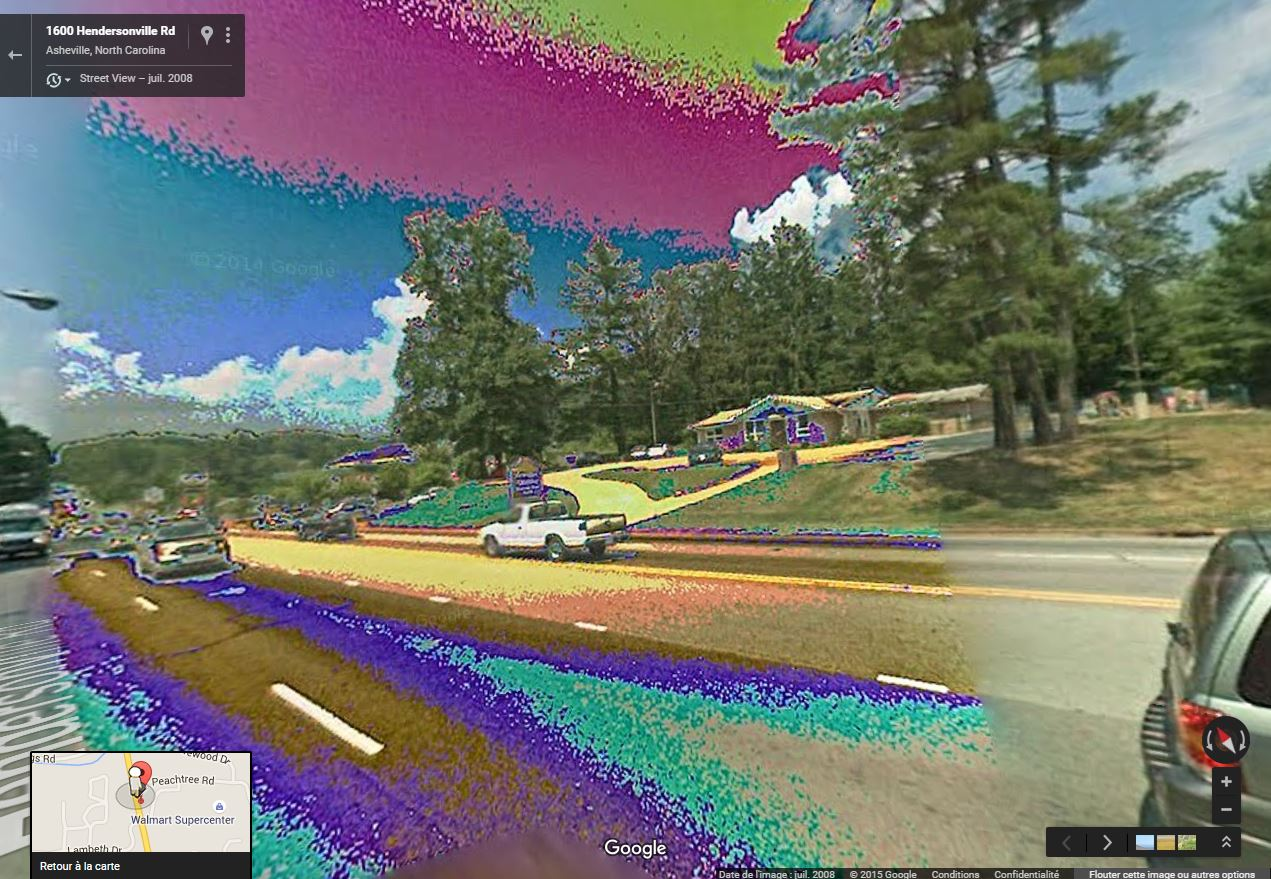 STREET VIEW : Bugs, collages, défauts dans l'image - Page 2 Psycha10