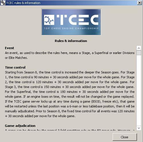 TCEC Saison 8 Timeco10