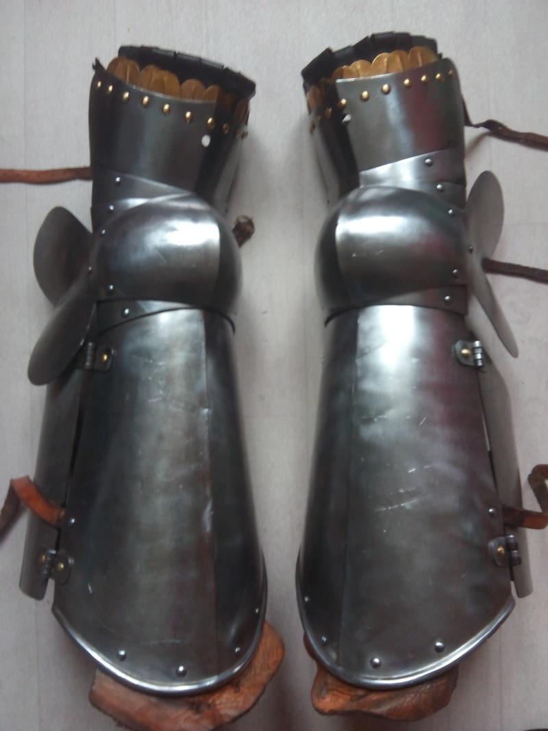 [VENDU] Paire de jambes d'armure - MARSHAL HISTORICAL, 1.6mm Img_2028