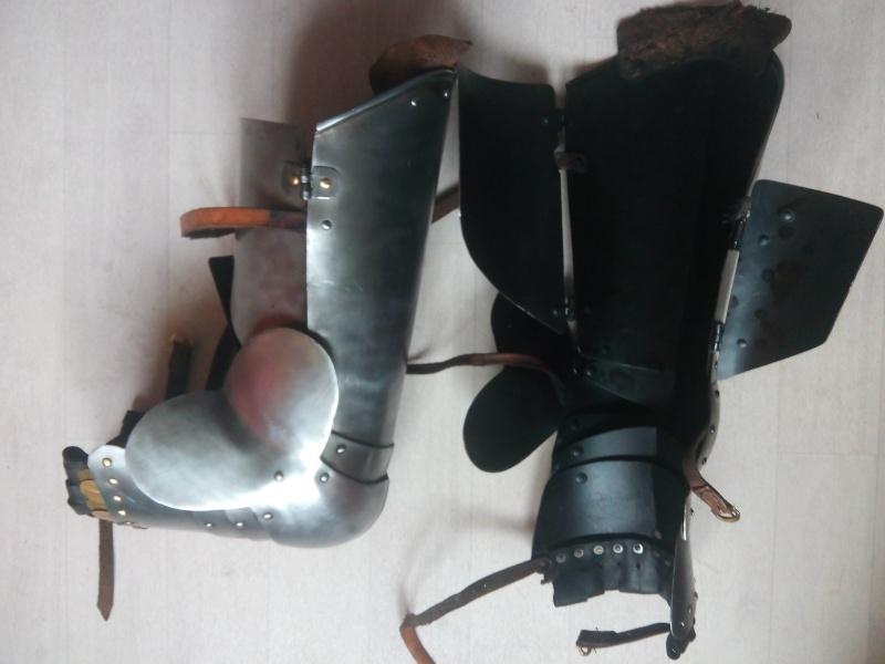 [VENDU] Paire de jambes d'armure - MARSHAL HISTORICAL, 1.6mm Img_2029