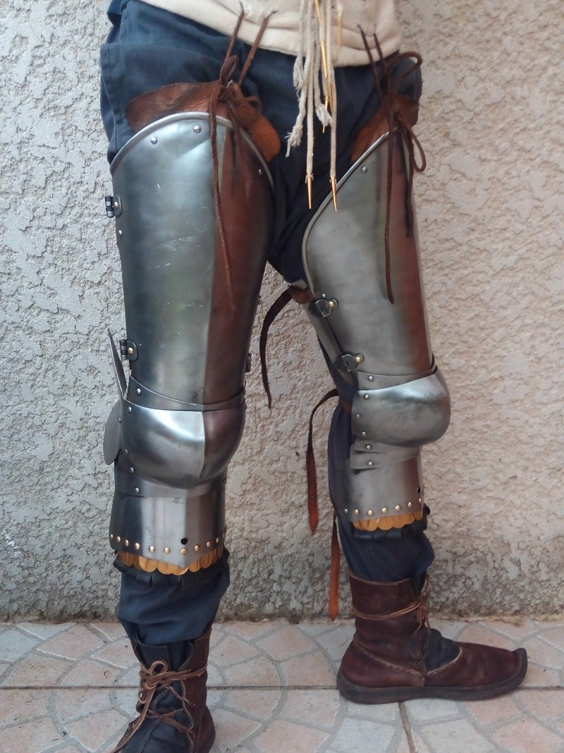 [VENDU] Paire de jambes d'armure - MARSHAL HISTORICAL, 1.6mm Img_2030
