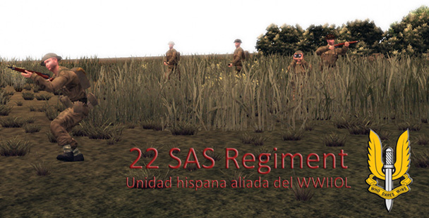 22SAS Regiment - Squad Española