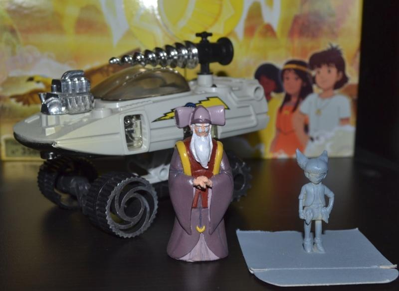 Jayce et son équipe à l'échelle de la gamme Mattel Guilia10