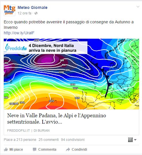 La (dis)informazione meteo in Italia! Buffon10