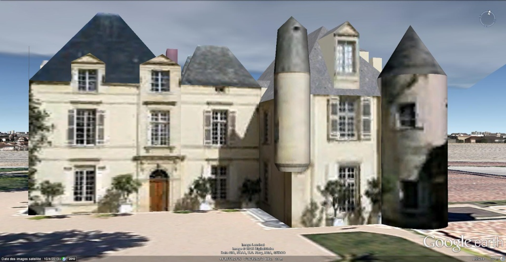 Château Haut Brion à Pessac, en France !! !! Chytea12