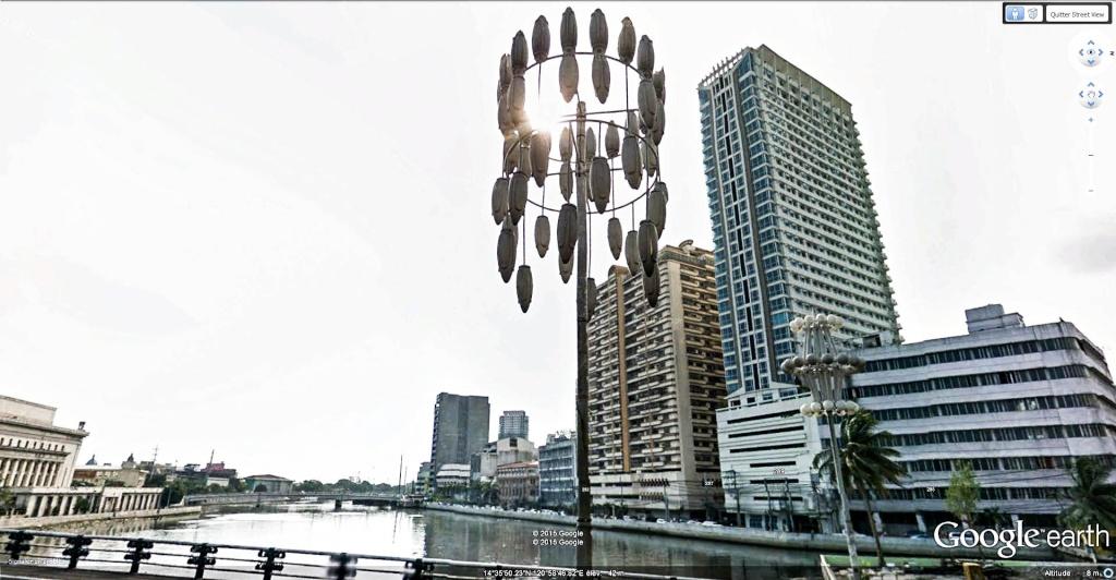 Street View : L'éclairge public dans le monde. Eclair10