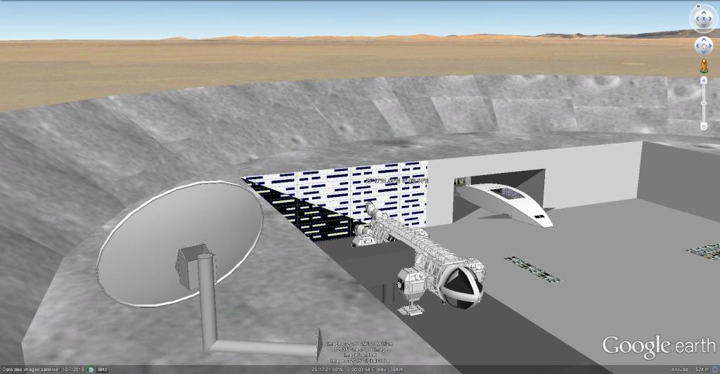 Moon base 2060, Algérie [Les créations en 3D Sketchup] Moon_b11