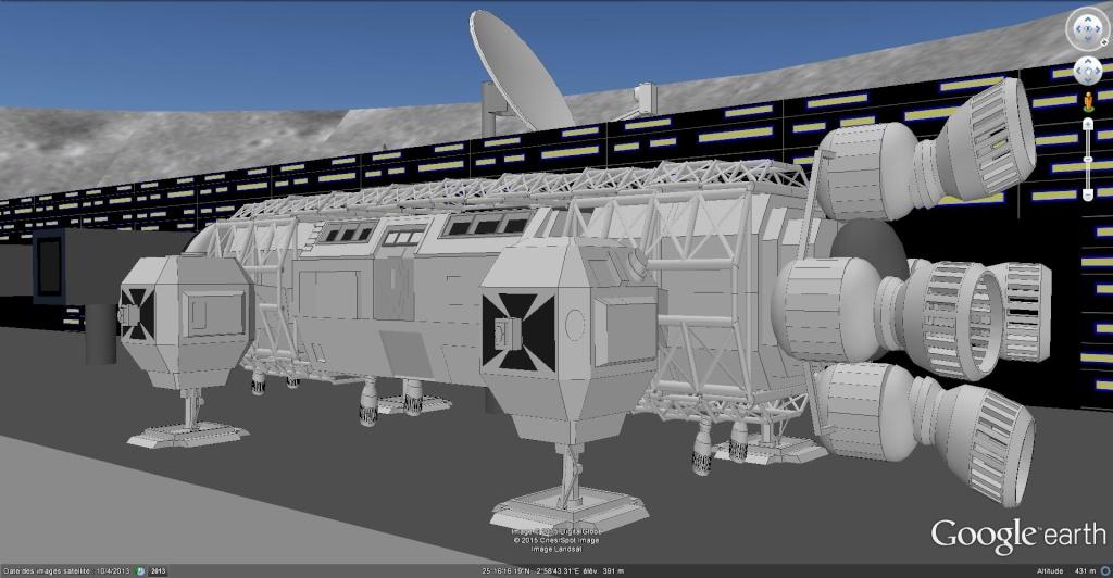 Moon base 2060, Algérie [Les créations en 3D Sketchup] Moon_b14