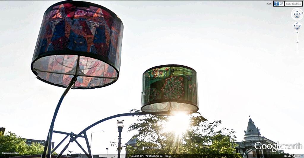 Street View : L'éclairge public dans le monde. Quybec10