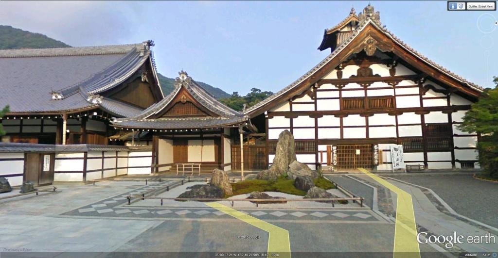 Temple bouddhiste Tenryū-ji à Kyoto au Japon. Temple11