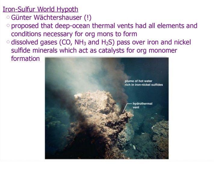 The naturalistic approach of origin of life scenarios Origin12