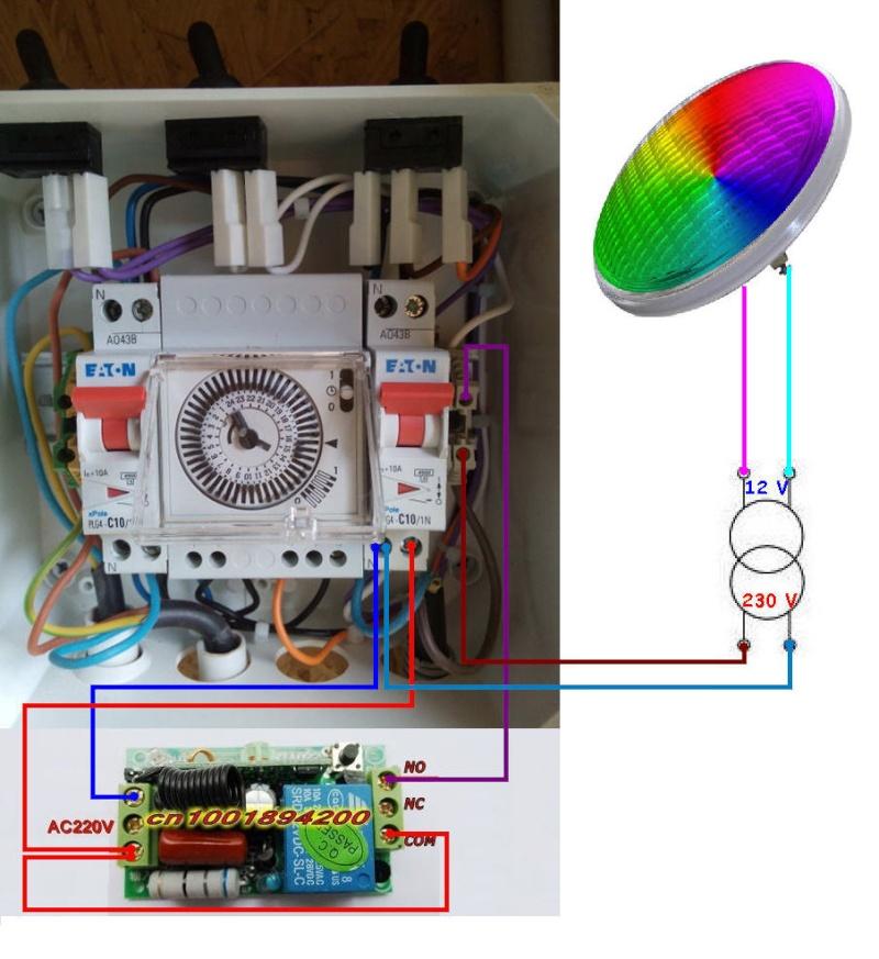 installation électrique à reprendre vers le local technique Coffre10