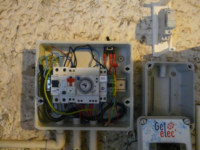 SCHEMA ELECTRIQUE BRANCHEMENT GEL'ELEC  P1050810