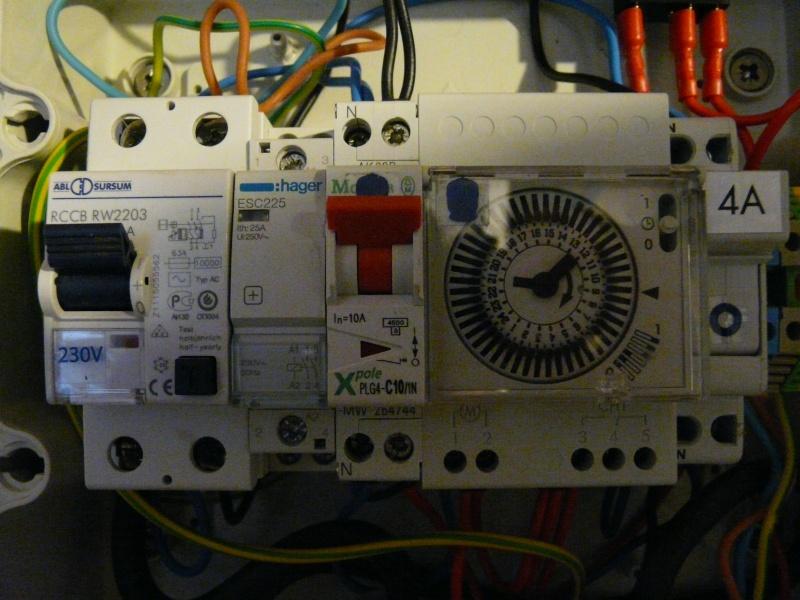 SCHEMA ELECTRIQUE BRANCHEMENT GEL'ELEC  P1050811