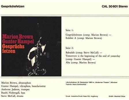 [Jazz] Playlist Marion12