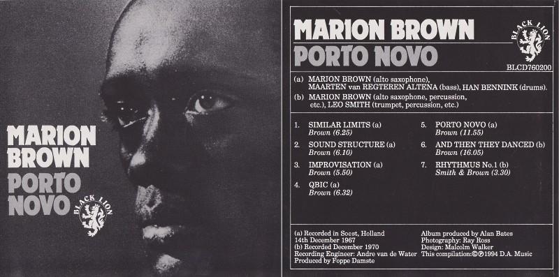 [Jazz] Playlist Marion13