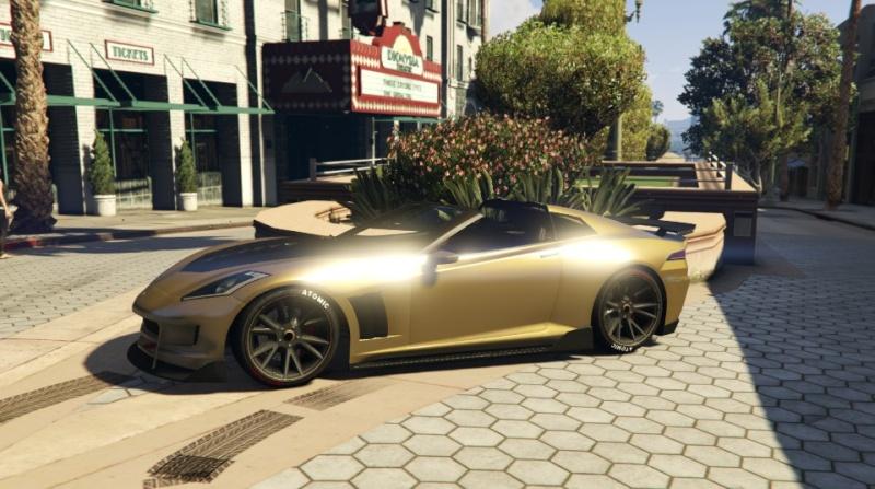 GTA V: votre garage Corvet10