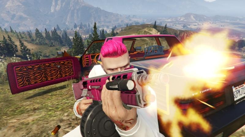 GTA V: Photos et selfies - Page 3 Gun10