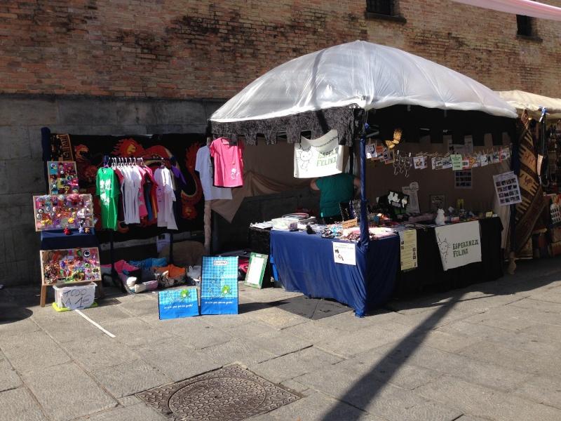 Esperanza Felina en el Mercado Medieval de Vitoria 2015. 25, 26 y 27 de Septiembre 03410