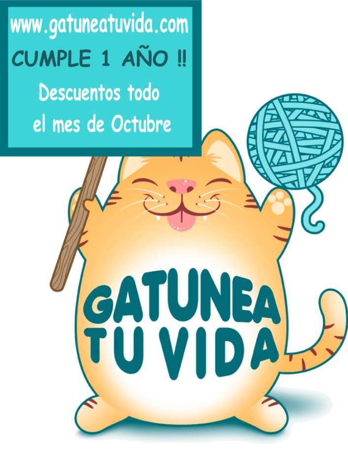 Primer aniversario de la web Gatunea tu Vida (GTV) Gatune11