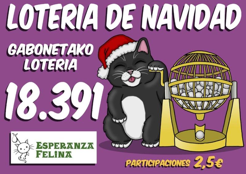 Loteria Navidad Esperanza Felina 2015 Nuestr10