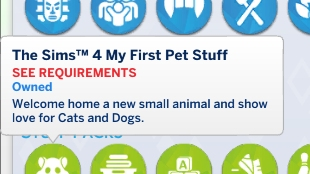 Issue with My First Pets Stuff Reg10