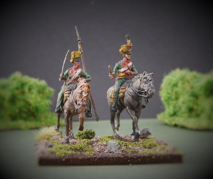 le 1er régiment de uhlan autrichien Mervel12