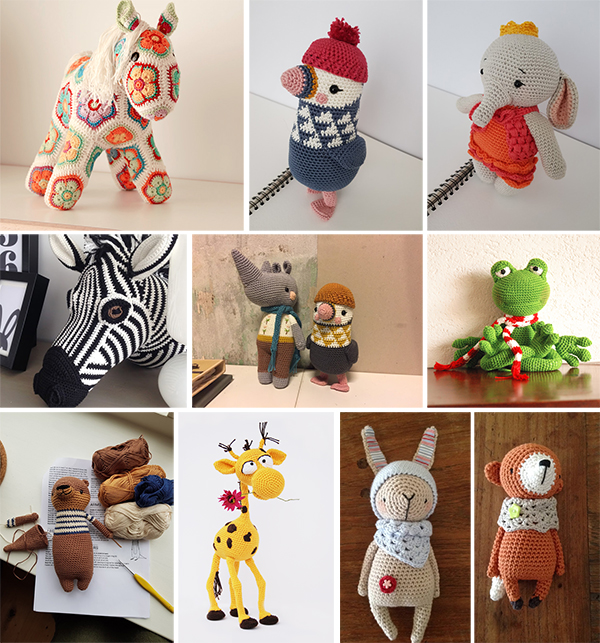 2019-20 Challenge Designer : Pink Reptile design Croche10