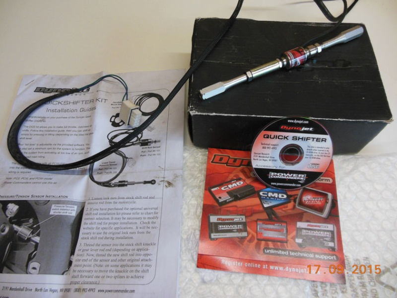 Quickshifter dynojet PUSH (4-102) PC3 USB Dscn5816