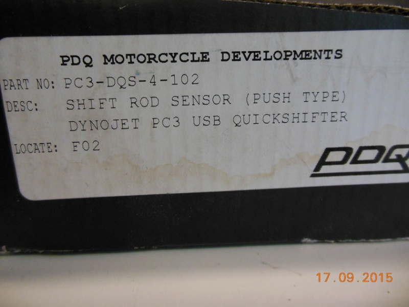 Quickshifter dynojet PUSH (4-102) PC3 USB Dscn5818