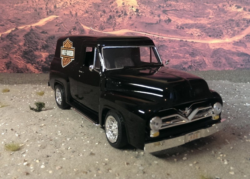 '55 Ford F-100 Panel Truck von Revell in 1:25. Imag1512