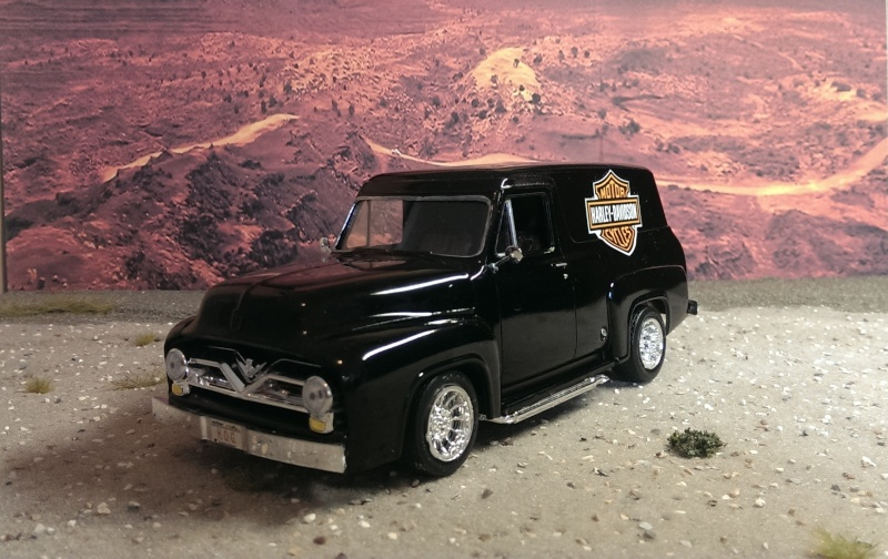 '55 Ford F-100 Panel Truck von Revell in 1:25. Imag1513