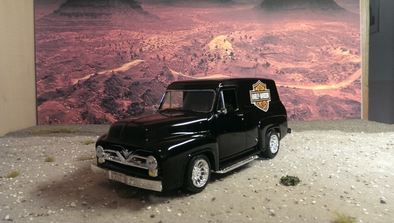 '55 Ford F-100 Panel Truck von Revell in 1:25. Imag1517