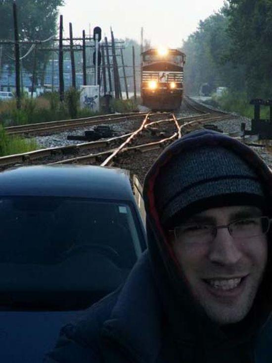 Clichés pris quelques secondes avant l'impact... Selfie10