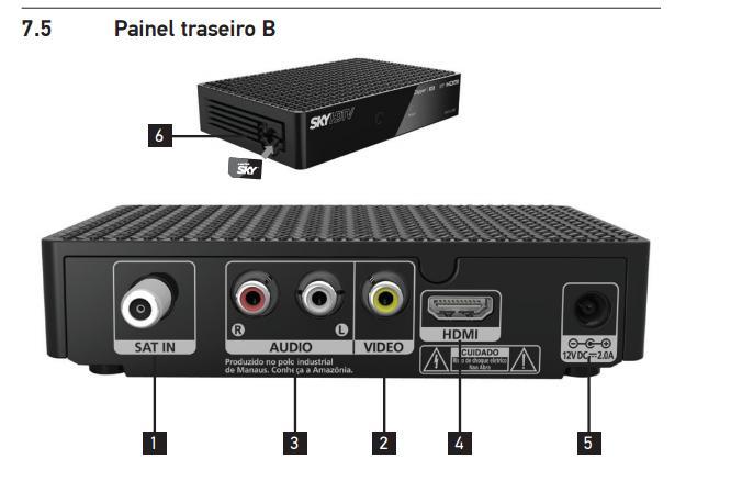 Confira as imagens do novo modelo decodificador da SKY, modelo Zapper SH10-500 Poster11