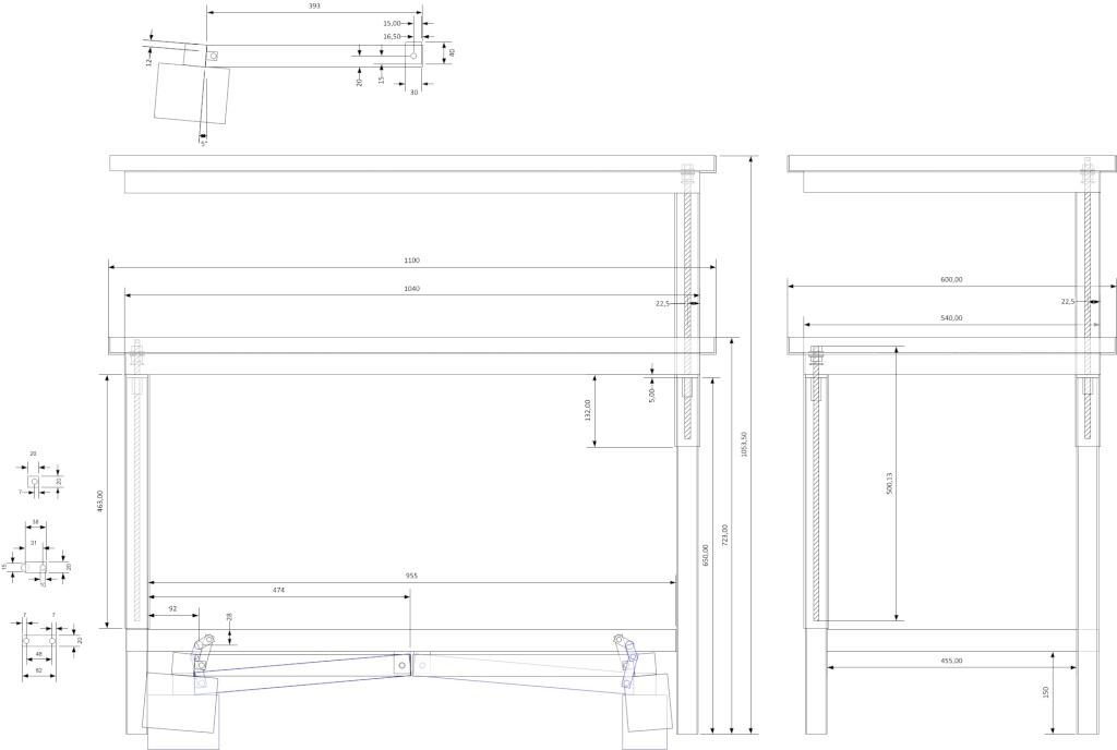 établi métallique réglable en hauteur - Page 2 Ytabli10