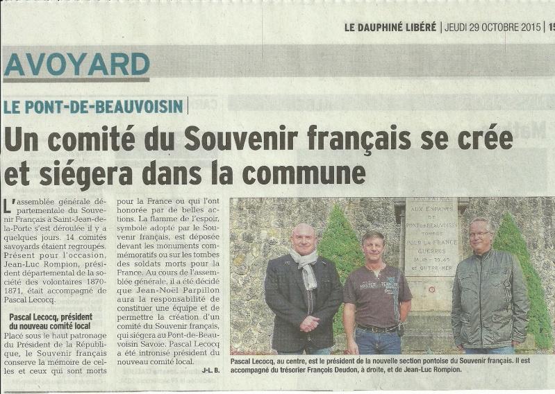 ACTIVITES DIVERSES DE LA SECTION SAVOIE ISERE - Page 4 Comity10