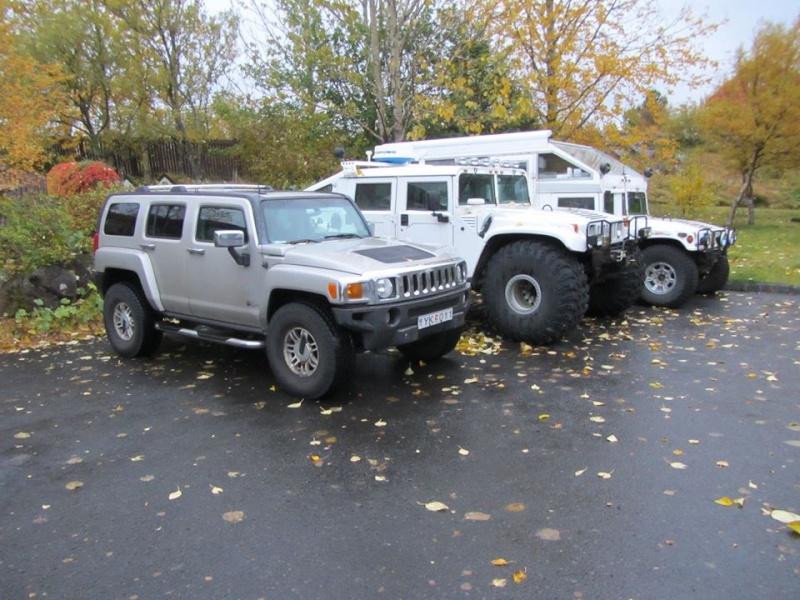 """HUMMER H3 pneu en 35"""" / HUMMER H1 pneu en 49"""" / HUMMER H1 pneu en 38.5"""" en Islande ... du gros gros pneu !!! 12118810"""