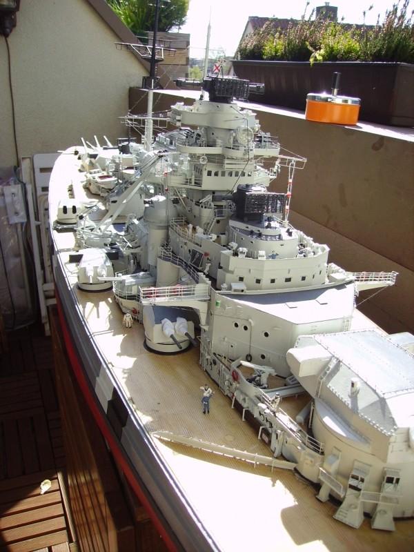 """""""Prinz Eugen"""" 1:200 von Hachette gebaut von Kurti - Seite 3 Pict9410"""